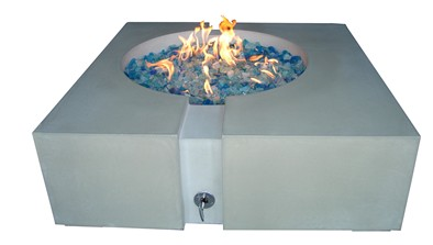 Fire Pit Burners & Glass