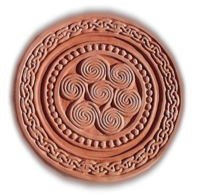 Celtic Round Stepping Stone Mold