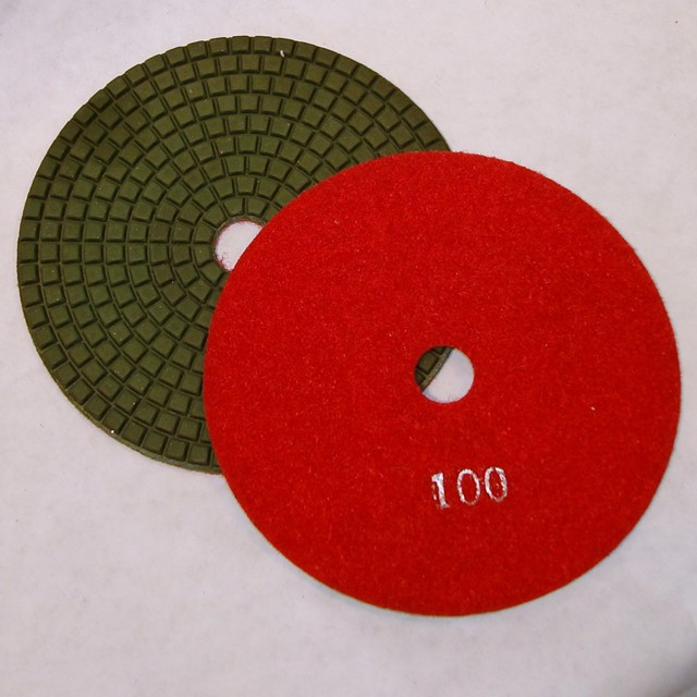 Dry Concrete Polishing Pad, 100 grit