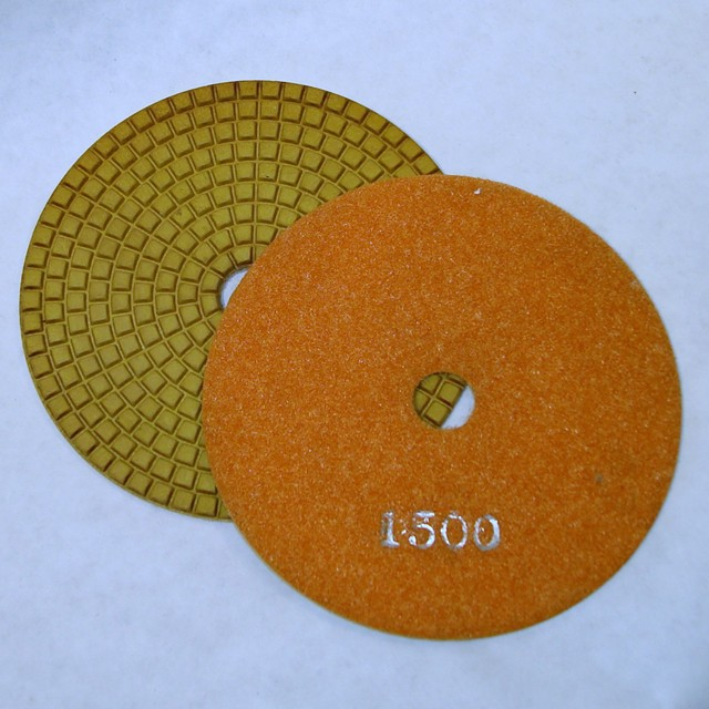 Dry Concrete Polishing Pad, 1500 grit