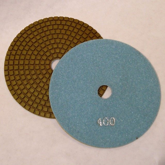 Dry Concrete Polishing Pad, 400 grit