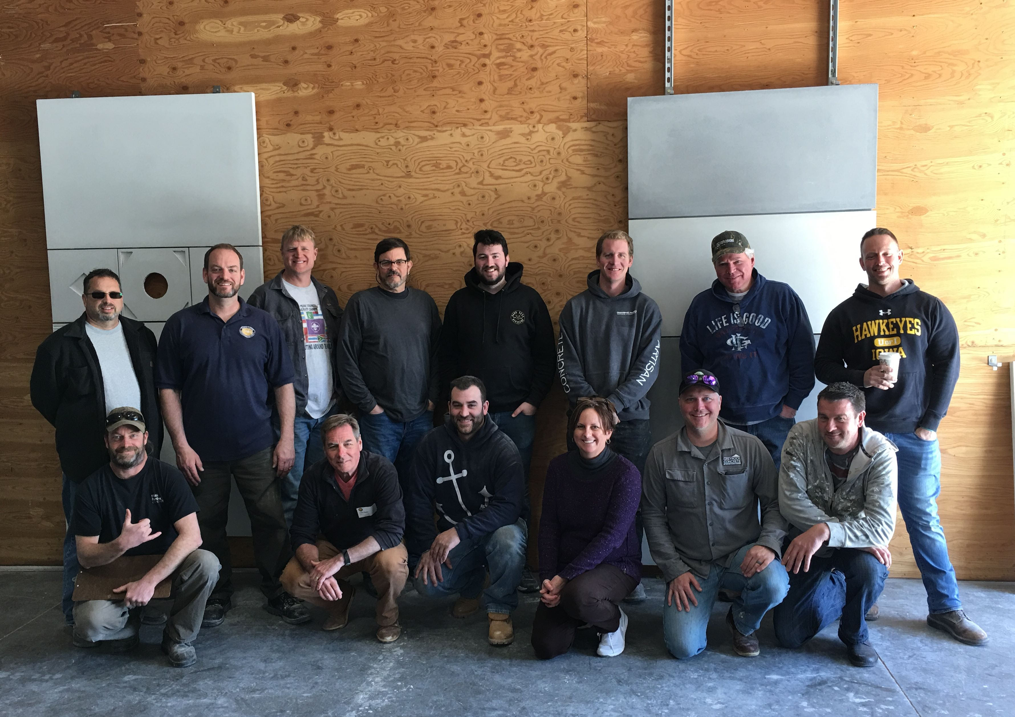 GFRC Cladding Workshop