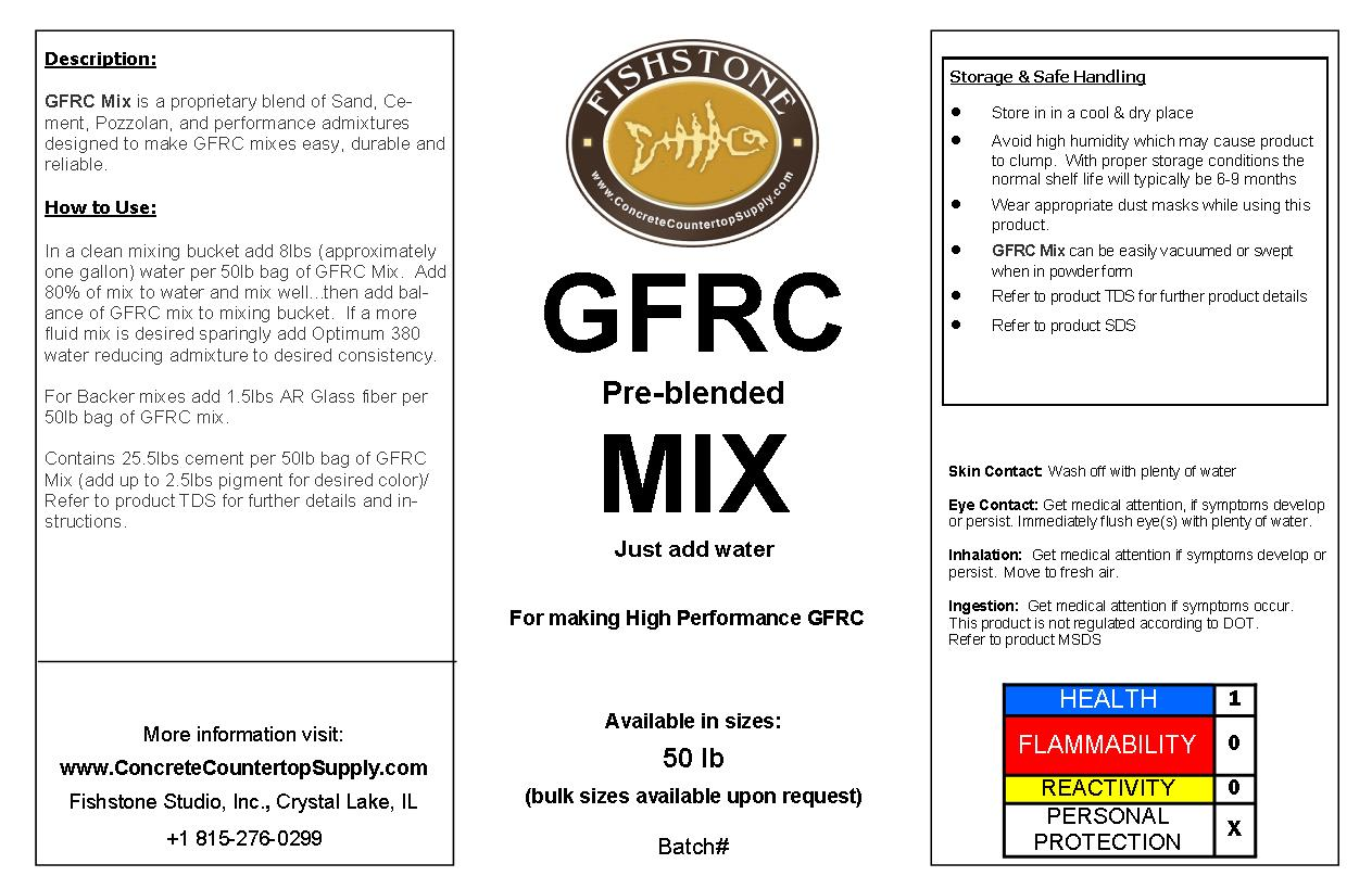Fishstone GFRC Bag Mix, 45lb