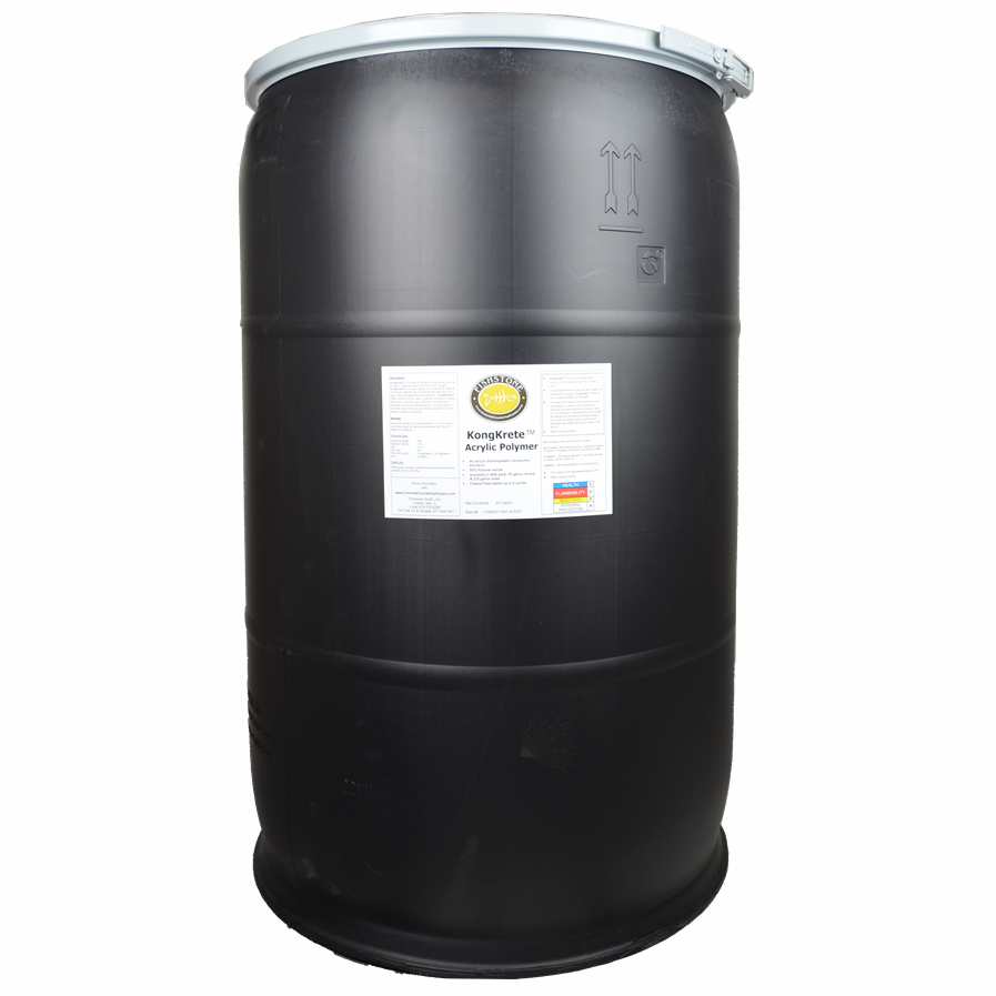 55 gallon Drum, KongKrete™ LIQUID acrylic polymer