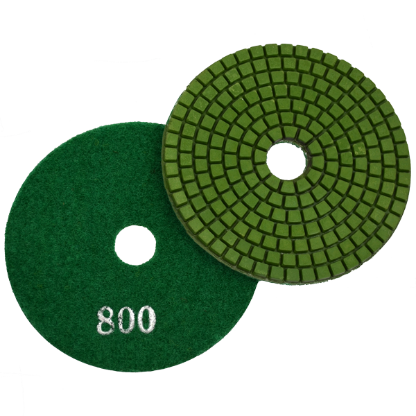 "Super Flex 4"" Concrete Polishing Pad 800 Grit"