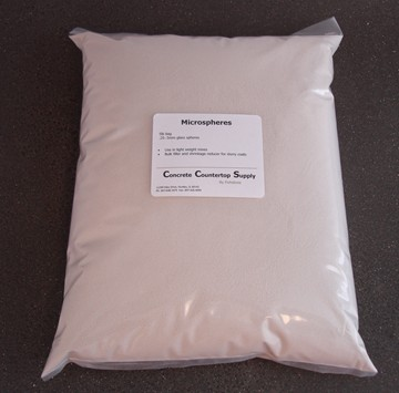 Microspheres, Large -  size .25-.5mm, 38 lb bag