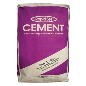 Rapid Set Cement, full pallet, 35 bags (purple)