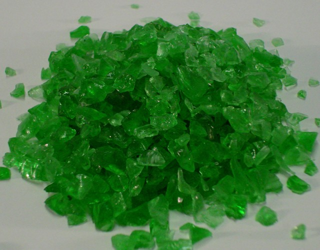 Glass Aggregate: Shamrock