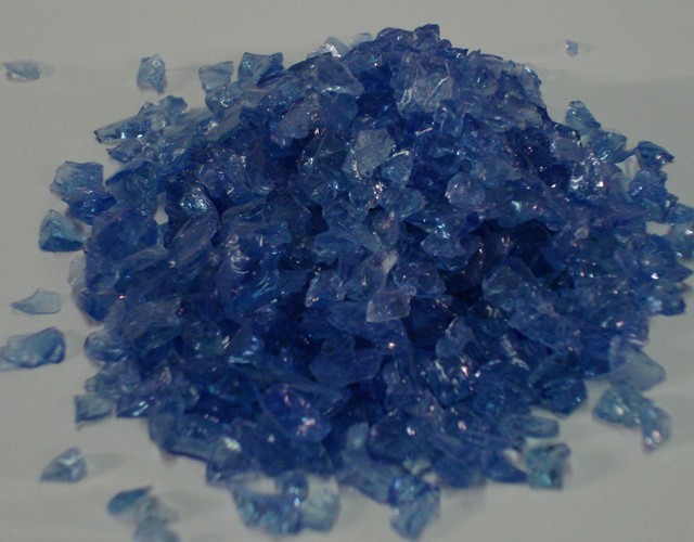 Glass Aggregate: Sky Blue