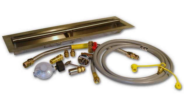 "24"" LP Gas Trough Burner Kit"
