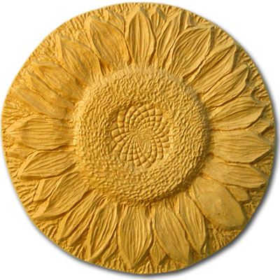 Sunflower Stepping Stone Mold