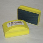 Fishstone Foam backed hand pad, 400 Grit