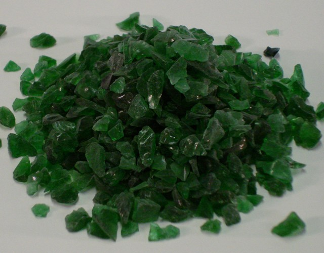 Glass Aggregate: Jade