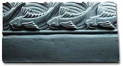 Jumping Fish Border Mold