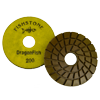 "DragonFish, 5"" Concrete Polishing Pad, 200 Grit"