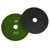 "Super Flex 5"" Concrete Polishing Pad 800 Grit, turbo"