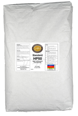 Standard HP50, High Performance Bag Mix, 50lb