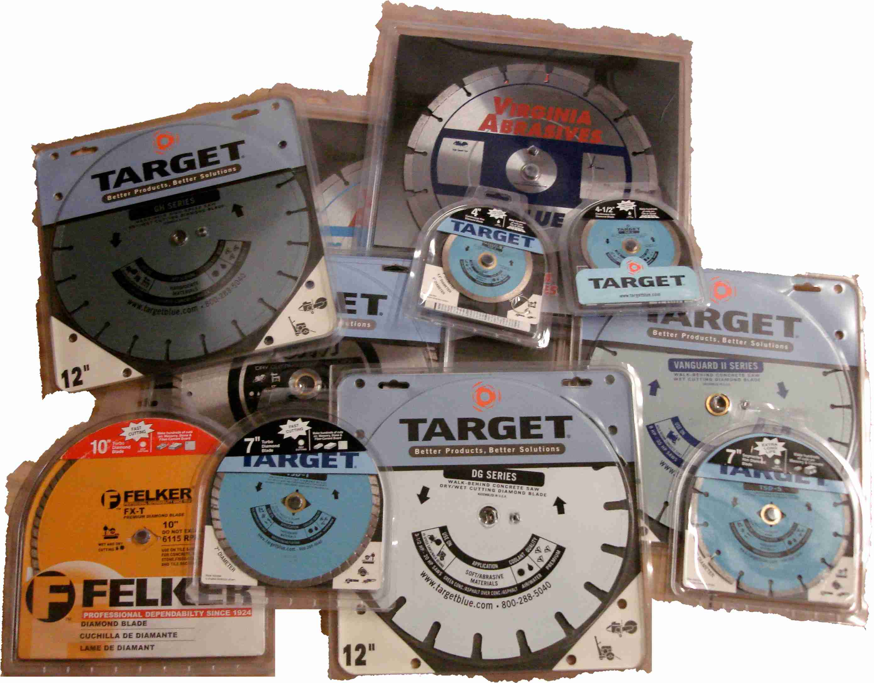Discontinued Diamond Blades