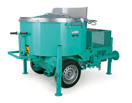 Imer Mortarman 750 Vertical Shaft Mixer